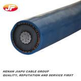 12/20kv câble d'alimentation moyen 1*50 1*70 de la tension XLPE/Swa/PVC