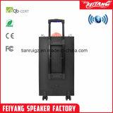 Luz de LED de alto-falante Bluetooth portátil de grande potência carrinho de 12 polegadas de alto-falante F12-23