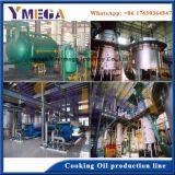 Un rendimiento excelente configuración alta completa línea de procesamiento de aceite de cacahuete