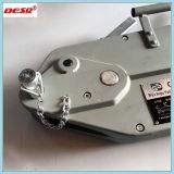 Aluminiumgehäuse-Stahldrahtseil, das Hebevorrichtung-Handkurbel zieht