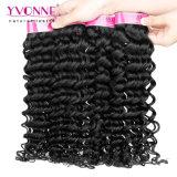 Tessuto profondo dei capelli umani dell'onda dei capelli umani dei commerci all'ingrosso 100%