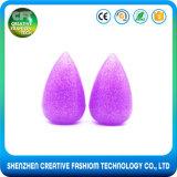 Spugna cosmetica di trucco del gel del silicone di scintillio del fondamento 3D del contrassegno privato