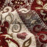 2018 100 % полиэфирная ткань большой букет формы различных цветов