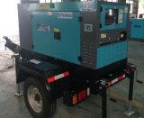 350kVA/280kw tipo silencioso generador diesel con las ruedas del acoplado dos