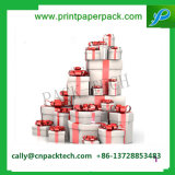 Sammelpack-Geschenk-verpackenkasten-Packpapier-Kasten-Silk Farbbandbowknot-Geschenk-Kasten