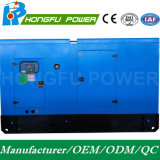 44kw 55kVA Cummins alimentano il generatore diesel con insonorizzato con il raffreddamento ad acqua