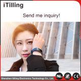 Tecnologia portabile del braccialetto astuto dell'inseguitore di attività, video dinamico di frequenza cardiaca, braccialetto astuto di Bluetooth con la domanda libera di iPhone e telefono Android