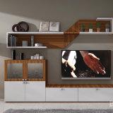 TVのキャビネットが付いている居間の家具の食料貯蔵室のキャビネット