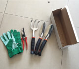 5pcs Jeu d'outils de jardin avec poignée de TPR fabriqués en Chine
