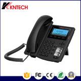 Poe Teléfono IP VoIP de teléfono de escritorio Teléfono de oficina