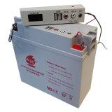 12V 17Ah AGM plomb-acide de batterie de stockage pour UPS