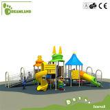 Apparatuur van de Speelplaats van de kleuterschool de Commerciële Openlucht