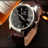 Relógio de pulso ocasional da forma do relógio do couro do Mens Z308