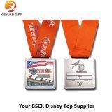 BSCIの工場Suuplyのカスタム金属のスポーツメダル