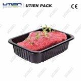 Свежее мясо лоток упаковочные машины, лоток для резьбовых соединений