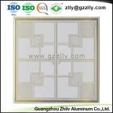 Fácil de limpiar fabricante de aluminio decorativo techo con ISO9001