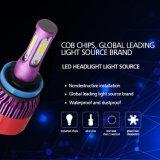 faro luminoso eccellente ad alta velocità LED H4 del ventilatore 8000lm