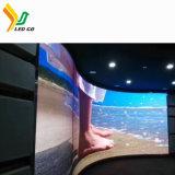 Écran de visualisation Shaped spécial polychrome de DEL