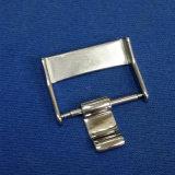 De opgepoetste Gesp van de Band van het Horloge van het Roestvrij staal in 20mm met Brede Tong 7mm