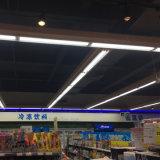 tubo de 180lm/W 18W LED T8 con la iluminación comercial