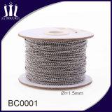 Rullo della catena della sfera dell'acciaio inossidabile di alta qualità 1.5mm