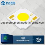 Puce sur carte LED 2W COB 1313 avec l'efficacité 150lm/W blanc naturel en 5 étapes