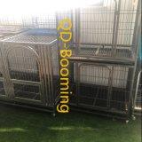 重い犬の粉上塗を施してあるFinshedのための熱いすくいの電流を通された犬小屋
