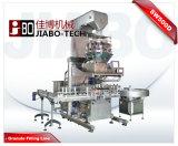El tarro automático del gránulo/puede/la máquina que capsula de Weighing&Filling de la botella