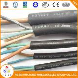 450/750V Hochleistungsgummi flexibles Isolierkabel H07rn-F H05rn-F H05rr-F mit CER Bescheinigung