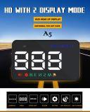 Velocidade de rotação multifuncional Carro de cabeça para cima Display3.5inch Hud