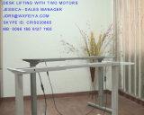 إرتفاع كهربائيّة مكتب قابل للتعديل وطاولة