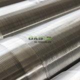 Filtro per pozzi dell'acqua del tubo del tubo dell'acciaio inossidabile 304 316L V Johnson