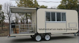 食糧トラックのトレーラーかスナックのトレーラーまたは移動式台所車