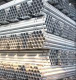 Pre-Galvanized Tubo de acero redondo de acero/acero tubo/tubo soldado