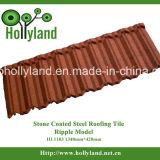 Mattonelle di tetto d'acciaio rivestite di pietra (stile dell'ondulazione)