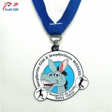 Customized Cartoon Rabbit Shape Medal Metal