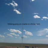 Communicatie van het Staal van het Rooster van de Lijn van Guyed Toren