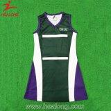 Healong 판매를 위한 차가운 디자인 스포츠 착용 승화 학교 소녀 Netball 복장
