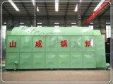 Gewebe, Drucken, Nahrungsmittelfabrik-industrieller Gebrauch-weiche Kohle-gebrannter Dampfkessel (DZL20-1.24-AII)