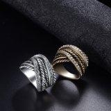 De nieuwe Geplateerde Ring van de Juwelen van de Manier van het Ontwerp Goud