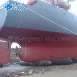Sacos hinchables de goma de lanzamiento del salvamento de marina del aterrizaje de la nave para los proyectos