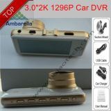 """3.0 """"Ambrella A7la50 GPS Tracking Car DVR com Hdr; WDR; Fcws; Ldws; G-Sensor"""