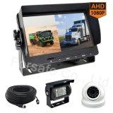 7inch de gespleten Uitrusting van de Camera van de Auto van Ahd 1080P van de Monitor Rearview