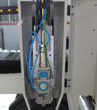 máquina de corte láser de fibra de alta precisión para metal