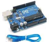 Uno R3 Arduino с доской Atmega328p + кабелем USB для пара Edutcation
