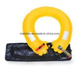 Морской надувной спасательный жилет с поясная сумка