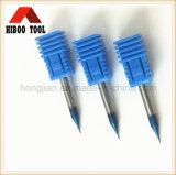 중국 좋은 품질 HRC60 파란 Nano 코팅 작은 끝 선반