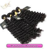 Capelli umani del Virgin molle e liscio dei capelli profondi brasiliani dell'onda di alta qualità
