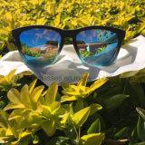 PC unisex de la insignia de encargo de la manera UV400 y gafas de sol polarizadas