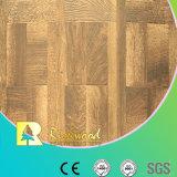 12.3mm Beschaffenheits-Walnuss des Woodgrain-AC4 wuchs umrandeten Laminbate Bodenbelag ein
